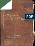 ASB Western 10 Year Anniversary Publication