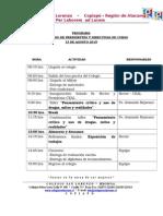 Programa Xiii Taller 2015 Presidentes de Curso
