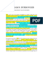 William s. Burroughs Freud y El Incc Docx