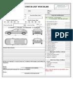 Modelo Checklist Veicular Sadero