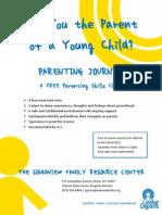 parenting journey- flyer
