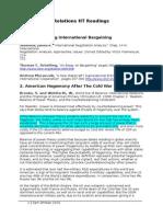 All IR Hillary Term Readings Summaries (2)
