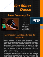 Zapatos Bailarines, Proyecto Introduccion a la ingenieria