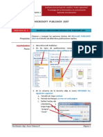 Practica N° 1 _PUBLISHER  2007