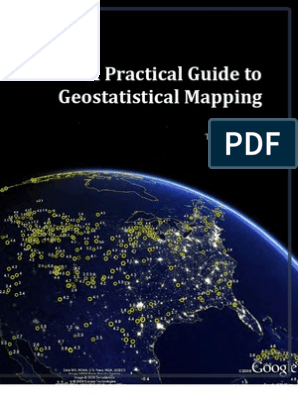 A Practical Guide to Geostatistical Mapping | Applied