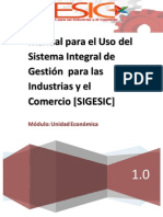 Manual Usuarios SIGESIC
