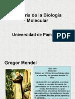Homenaje a Los Pioneros Que Impulsaron La Genetica Molecular