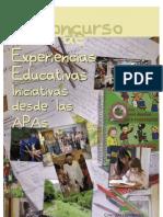 CEAPA_IX CONCURSO DE EXPERIENCIAS EDUCATIVAS_INICIATIVAS DESDE LAS APAS