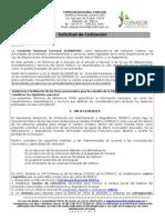 EJEMPLO DE CONVOCATORIA Solicitud de Cotización Asistenci y Facilitador ENAREDD