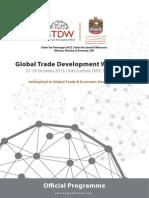 GTDW2015 Programme 040815