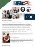 Employers of National Service Factsheet