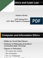 AndreHarmic-Computer Ethics and Law Presentation