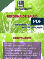 Reforma de Salud 2015