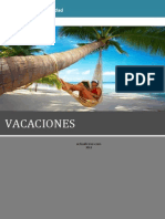 Prestaciones Sociales Vacaciones
