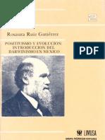 1987 Ruiz, R. - Positivismo y Evolucion Completo