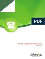 Route Congestion Messages
