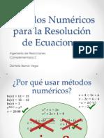 Métodos Numéricos Para La Resolución de Ecuaciones(2)