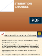 Ppt Distribution Channel