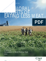 Global Benefits of Eating Less Meat
