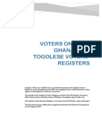 Voters on Both Ghanaian & Togolese Voters' Registers