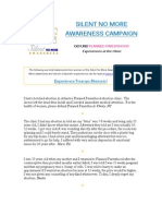 """Silent No More """"Defund Planned Parenthood"""" Campaign   http://www.thefederalistpapers.org/"""