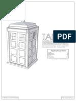 Tardis Papercraft