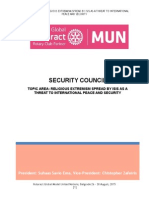 Study Guide Security-Council Rotaract Global Mun 2015