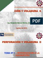 Perforacion y Voladura II Tema 01