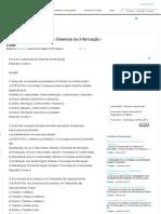 Prova de Fundamentos de Sistemas de Informação - ESAB