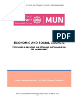 Study Guide ECOSOC-Topic-Area-B Rotaract Global Mun 2015