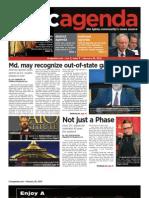 dcagenda.com - vol. 2, issue 9 - february 26, 2010