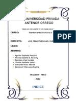 Analisis Del Distrito de Huanchaco