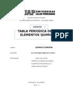 Monografia Tabla Periodica