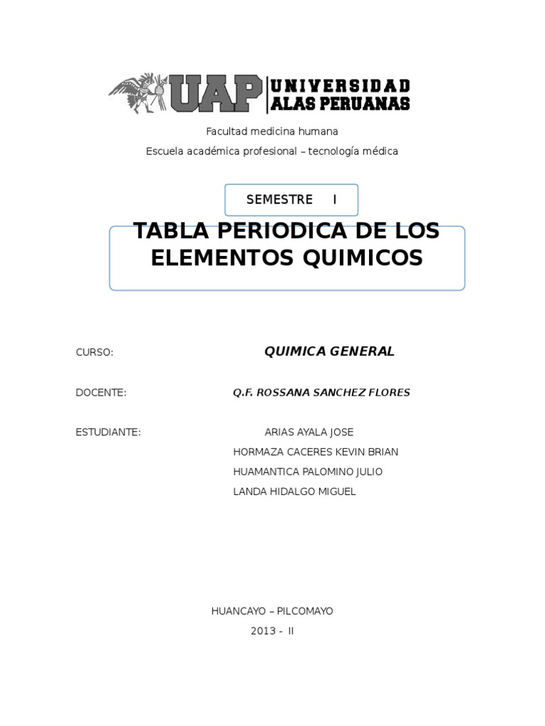 Monografia tabla periodica urtaz Gallery