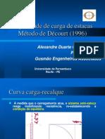 Capacidade de carga de estacas Metodo DECOURT.pdf