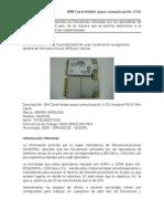 Tarjeta 3G - 7570LAN037X00