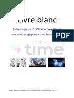 Livre Blanc - ToIP Une Solution Gagnante Pour Les Entreprises - Version 2015