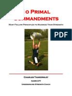 10 Primal Commandments 1