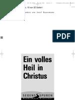 Werner Heukelbach Ein Volles Heil in Christus Bibel Gott Jesus