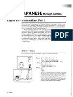 (Contractions Pt1) Basic Japanese With Comics