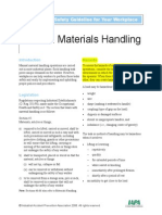 A Health and Safety Guideline for Your Workplace_manual Materials Handling