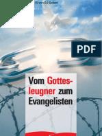 Werner Heukelbach Vom Gottesleugner Zum Evangelist En Bibel Gott Jesus
