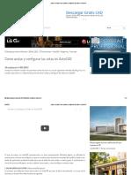 Plano y Escala_ Como Acotar y Configurar Las Cotas en AutoCAD