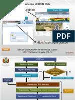 MINISTERIO DE PLANIFICACION DEL DESARROLLO SISIN WEB