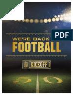 2015 NFL Kickoff Information Guide