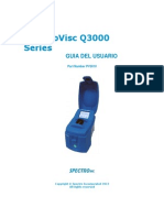 PV3010 V1.5 SpectroVisc Q3000 Series User's Guide Traducido
