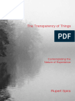 The Transparency of Things Rupert Spira