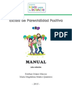 Manual de La Escala de Parentalidad Positiva 2015