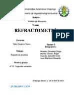 Practica 5 Refractometria