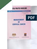 CPG Management of Cervical Cancer